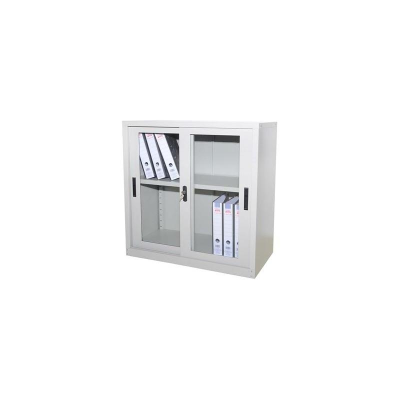 Half Height Glass Sliding Door Leading Office Furniture
