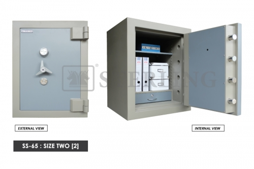 Banker Safe SS-65 - Size Two (2)