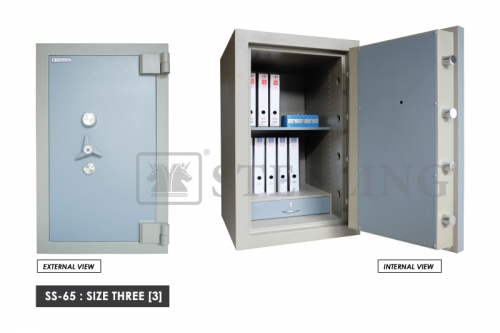 Banker Safe SS-65 - Size Three (3)