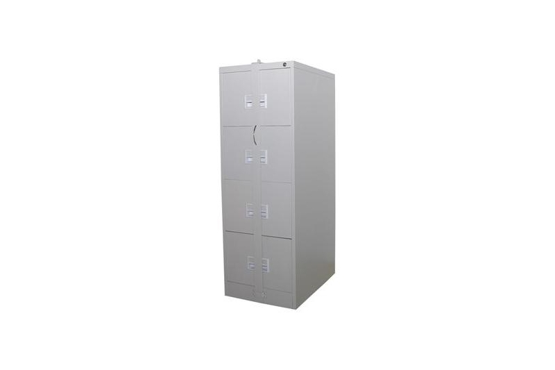 Filling Steel Cabinet w Locking Bar - 4 Drawer