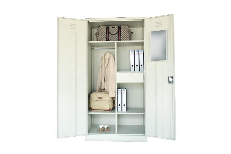 Full Height Wardrobe Steel Swinging Door