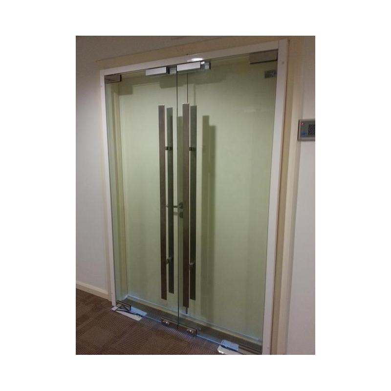 Frameless 12mm Tempered Glass Door Leading Office Furniture