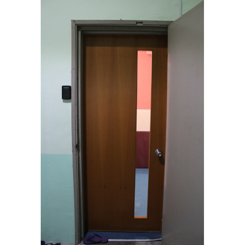 Nyatoh Plywood Door - Leading Office Furniture, Office Partition