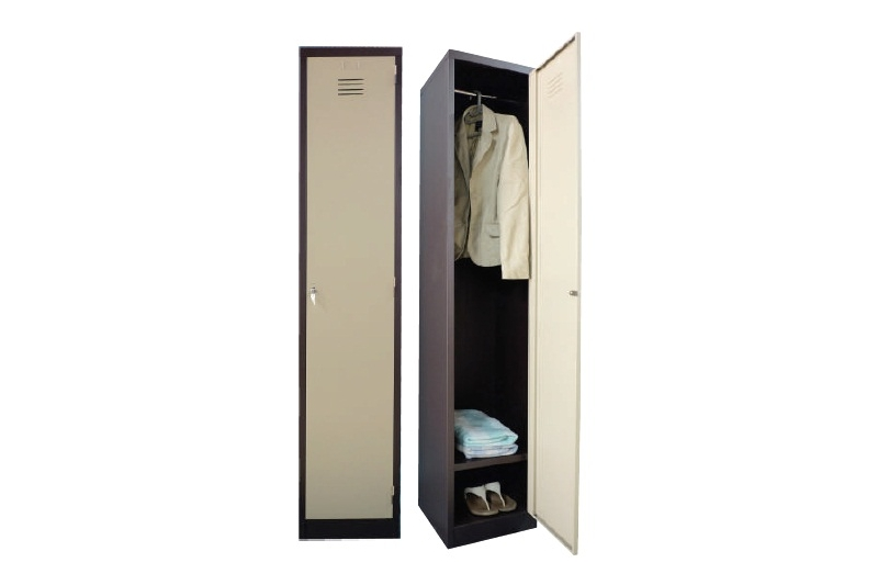 1 Compartments Steel Locker