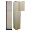 3 Compartments Steel Locker