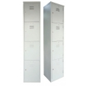 4 Compartments Steel Locker
