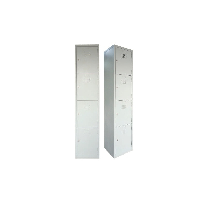 4 Compartments Steel Locker Leading Office Furniture
