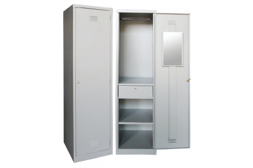 1 Compartments Steel Locker (SCM-0002)