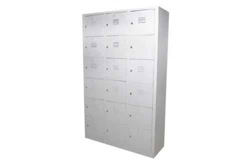 18 Compartment Steel Locker