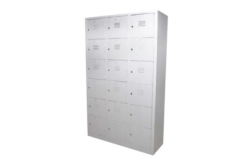 18 Compartment Steel Locker