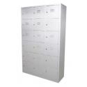 18 Compartments Steel Locker