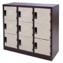 9 Compartments Steel Locker (Half Height)