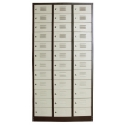 36 Compartments Steel Locker