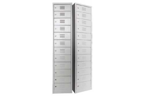 12 Compartments Steel Locker (SCM-0005)