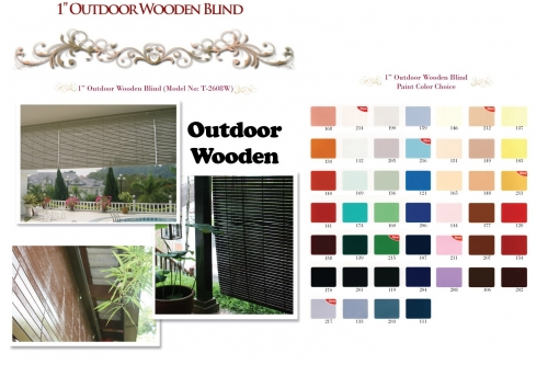 Outdoor Wooden Blind