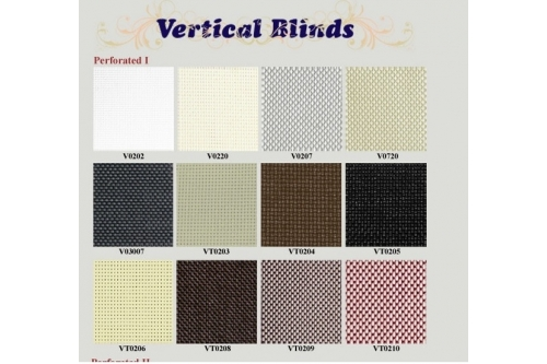 Vertical Blind - Perforated