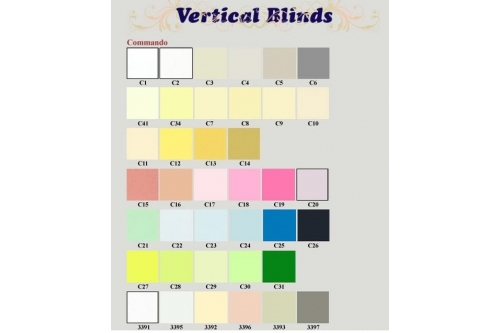 Vertical Blind - Blockoff