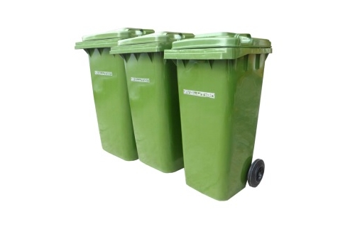 Mobile Garbage Bin 2-Wheel - 120 liters