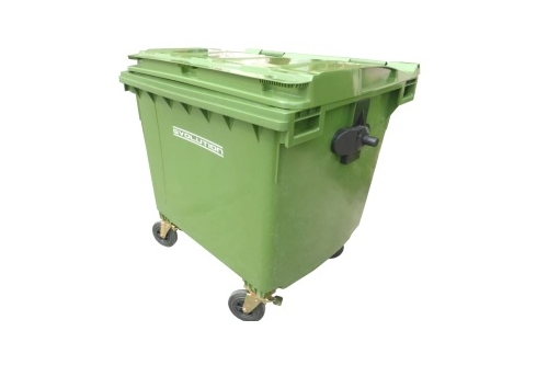 Mobile Garbage Bin 4-Wheel-1100 liters