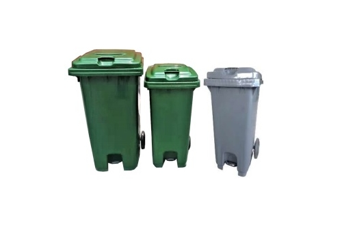 Mobile Garbage Pedal Bin 2-Wheel