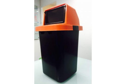 Dustbin 10 Gallon w Flip Cover