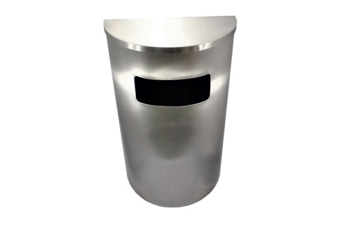 Stainless Steel Bin Semi Round