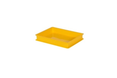 Industrial Stackable Tray-Yellow