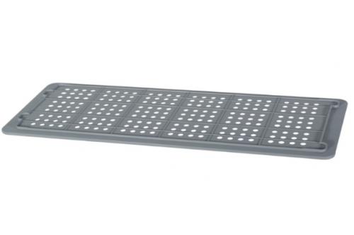 Industrial Stackable Tray Lid -Grey