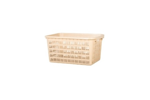 Industrial Basket - Cream /Black