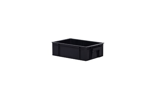 Industrial Stackable Container -Black