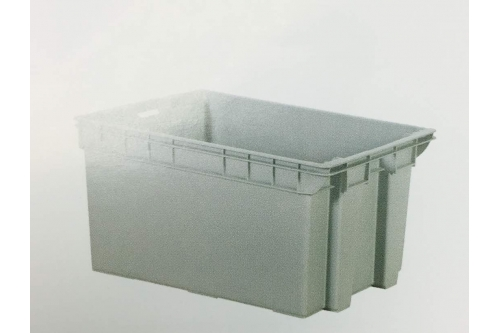 Industrial Stackable Container - Grey