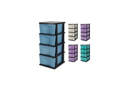 4 Tiers Trendy Drawer(Solid )
