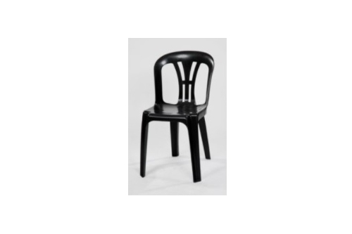 Plastic Chair -Black