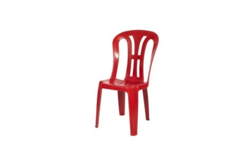 Plastic Chair -Red