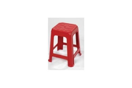 Plastic Stool -Red