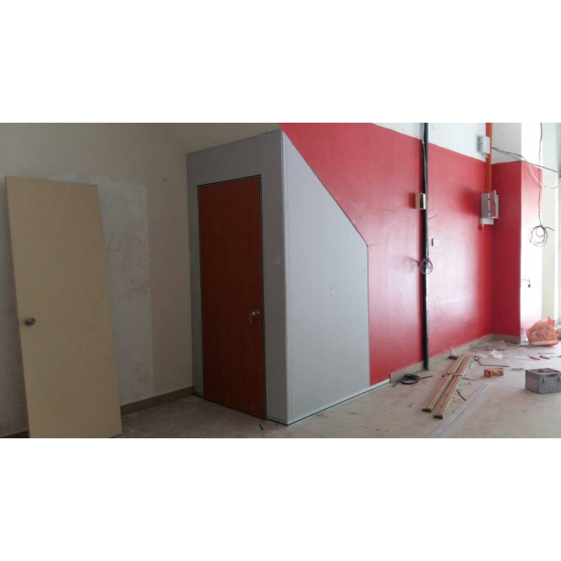 Gypsum board partition leading office furniture