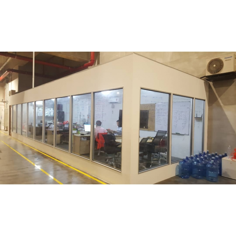 Gypsum Board Partition Leading Office Furniture Office