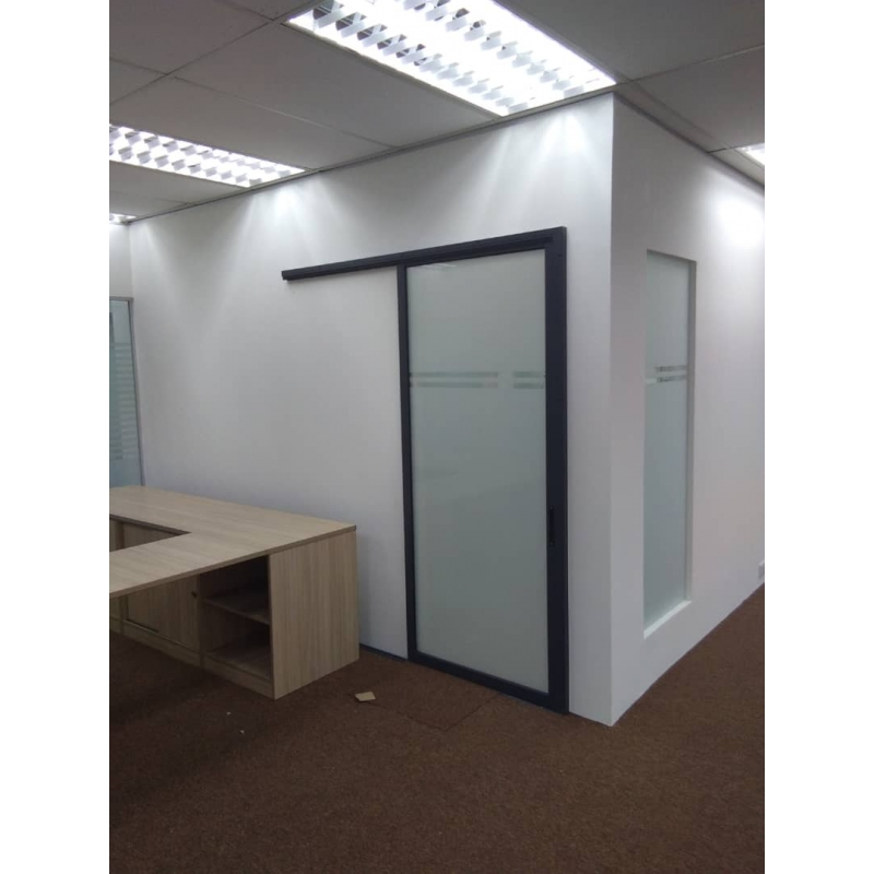 Aluminium Frame W Glass Door Leading Office Furniture Office