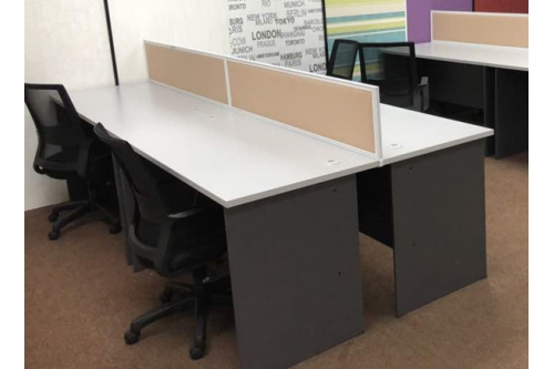 4 pax workstation (GT 157 standard table)