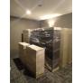 3 Compartments Steel Locker