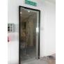 Frameless 12mm Tempered Glass Door