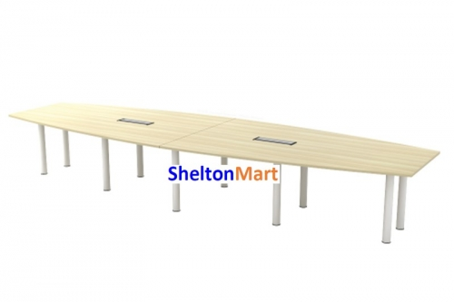 B Series - Boat-Shape Conference Table