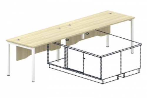 Standard Table (with Wooden Front Panel) - SL55 Series