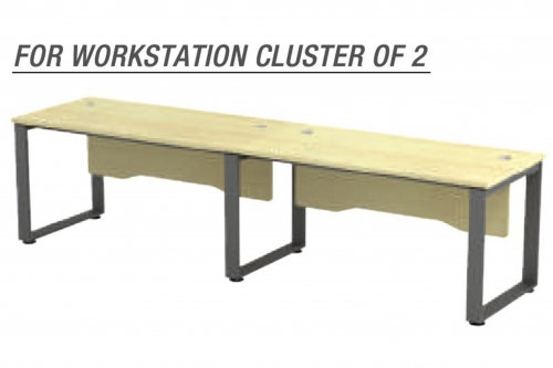 Standard Table Cluster of 2 - SQ Series